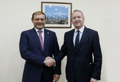 Issues aimed at investment environment activation between Yerevan and the United Kingdom have been discussed